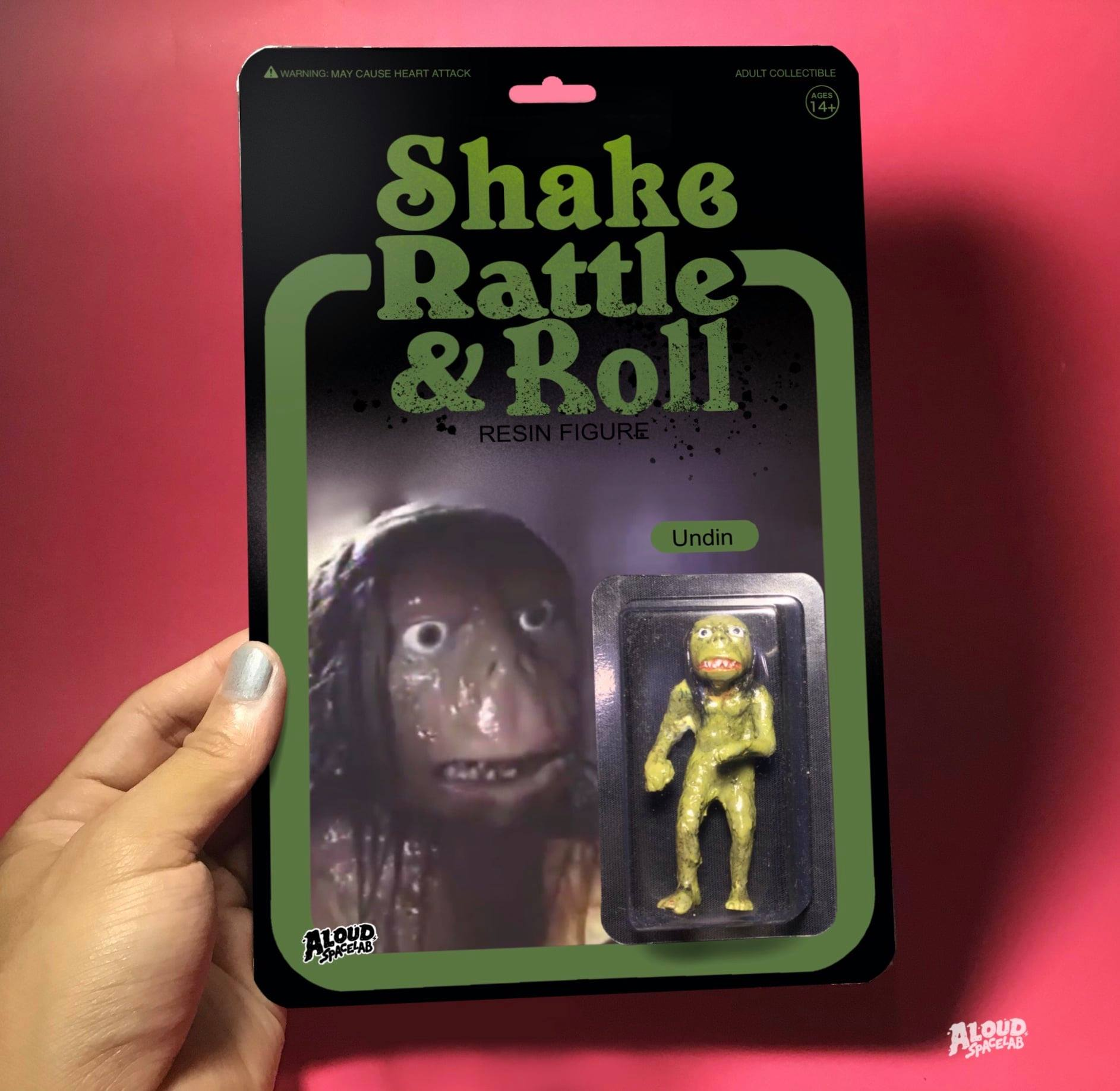 """Figurine of Undin from """"Shake, Rattle and Roll"""""""
