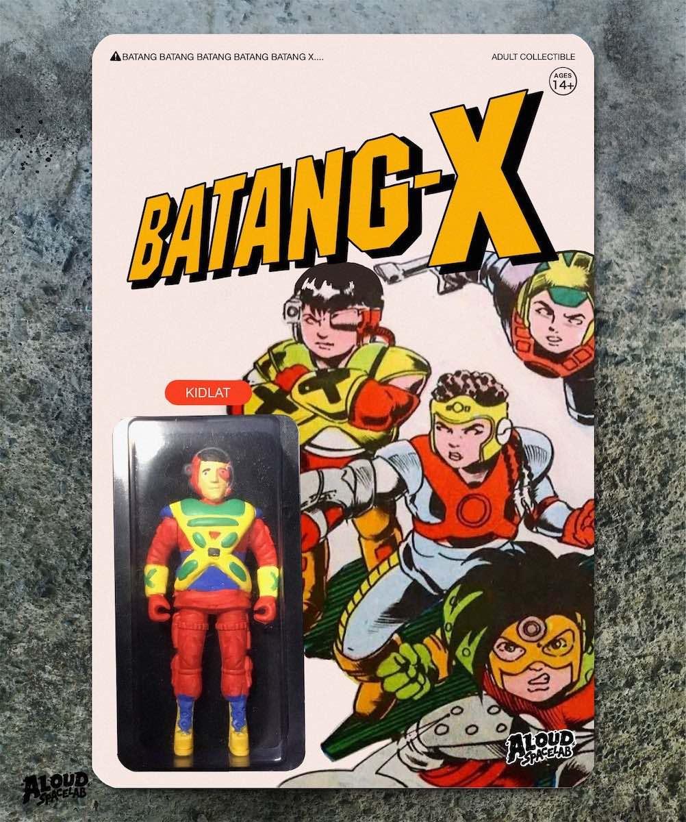 "Figurine of Kidlat from ""Batang-X"""