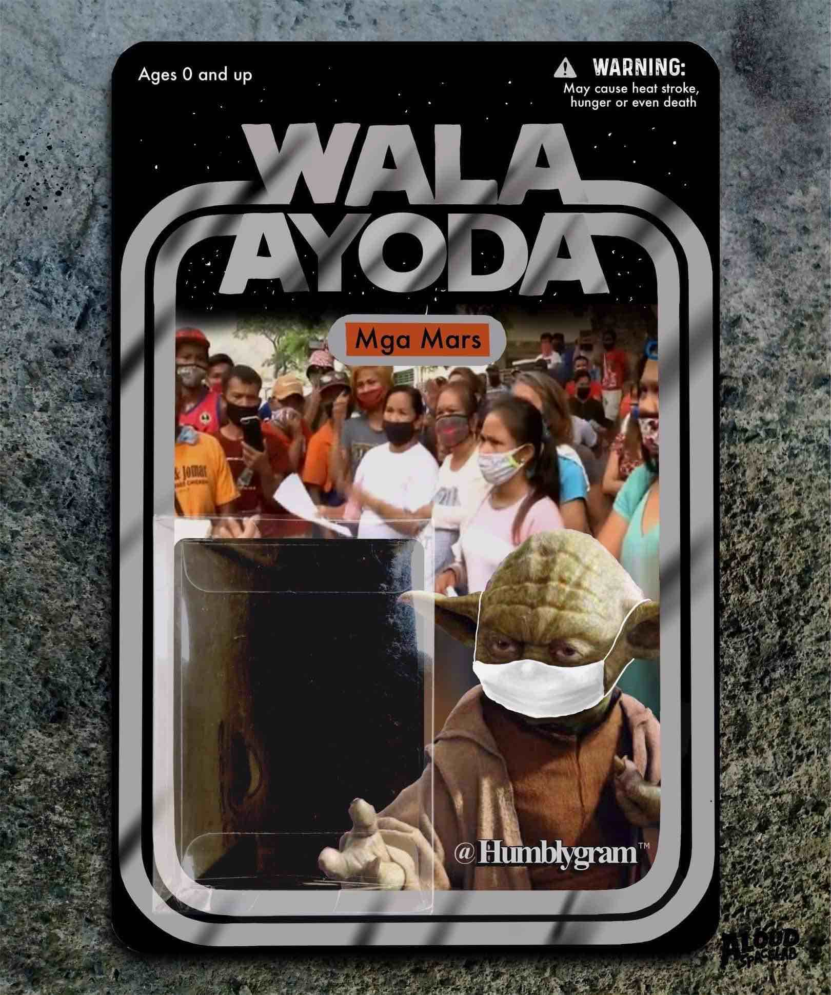 """Wala Ayoda Mga Mars"" figurine"