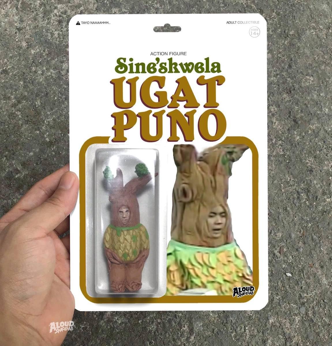 """Figurine of Ugat-Puno from """"Sineskwela"""""""