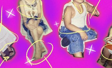 PHOTO ESSAY: How our moms dressed us up as kids