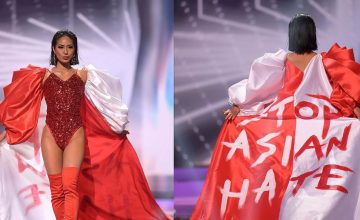 Miss Universe Singapore's powerful costume was made by a Filipino