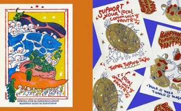 Help a soup kitchen by buying a riso poster for your community pantry