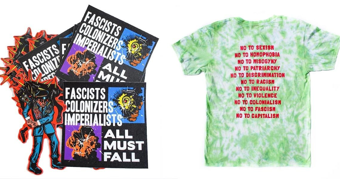 Makò Micro-Press' merch is a rallying cry against injustices