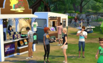'The Sims' is hosting a music fest with actual musicians (in Simlish, OFC)