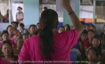 Learn more about why Manila's homeless deserve more than resettlements in this docu