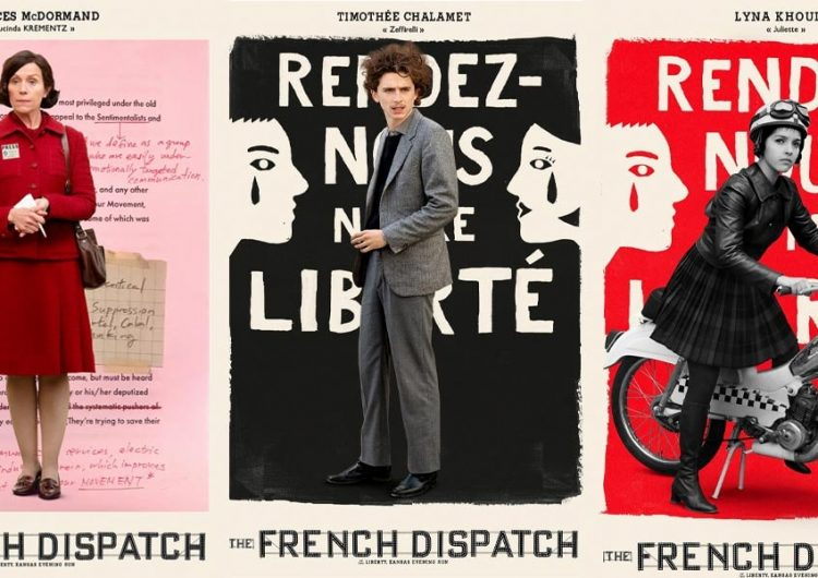 Meet the gang of 'The French Dispatch' in these new character posters
