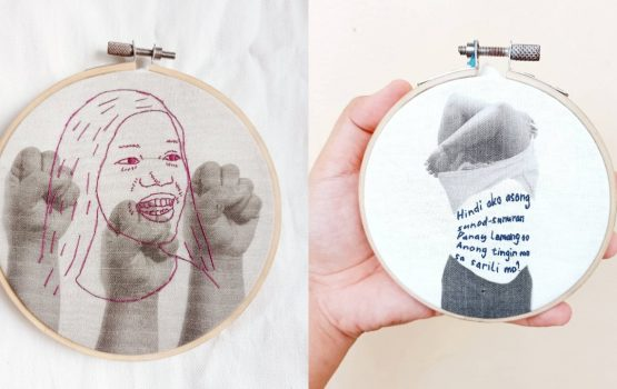 For this Samar-born artist, embroidery is protest