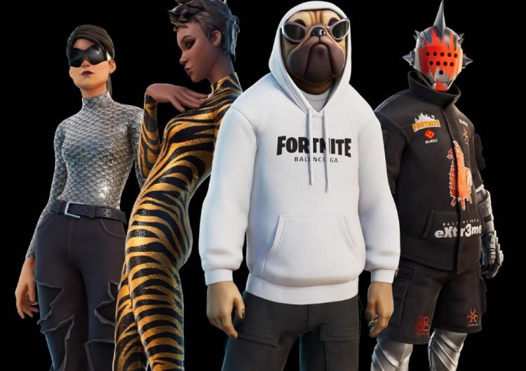 Fortnite gets real fancy with a Balenciaga collab