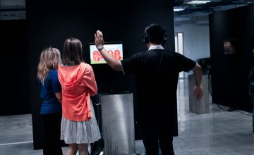 Can video games change society? Find out through this interactive exhibit