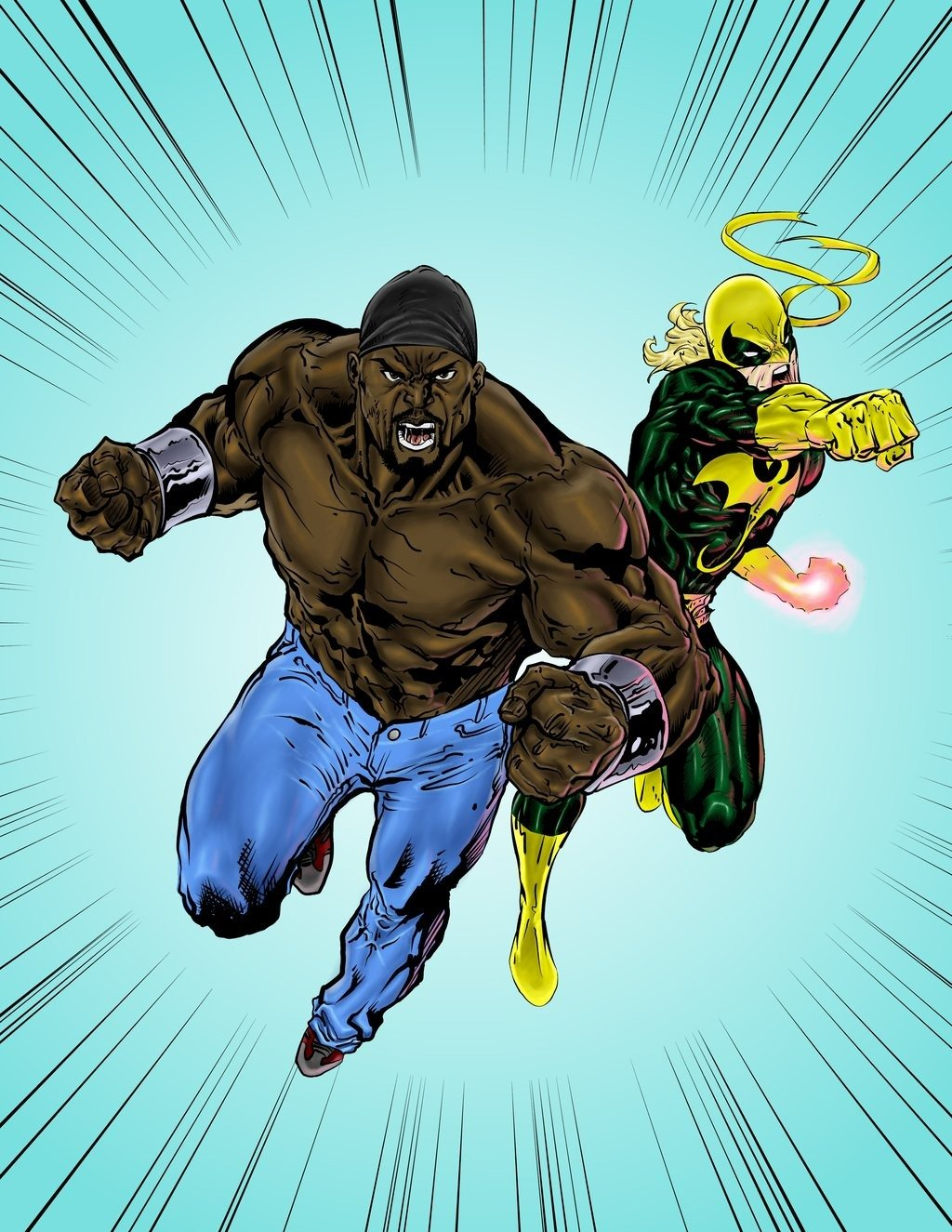 Marvel Reveals First Looks At Luke Cage And Iron Fist