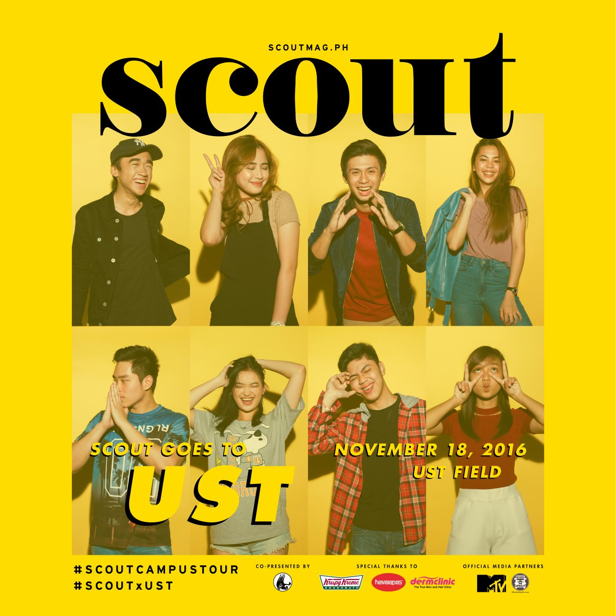 We're Finishing Strong With The Scout x UST Campus Tour