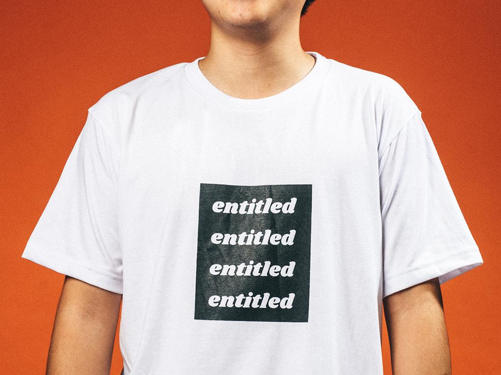 """ENTITLED"" BOGO TEE"