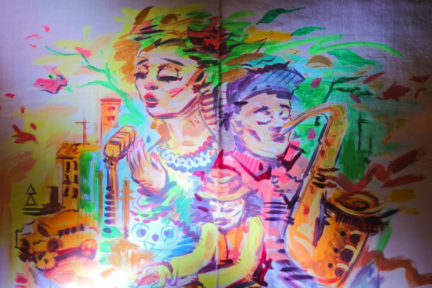 Sights and sounds for the soul scout magazine for Bonifacio mural painting