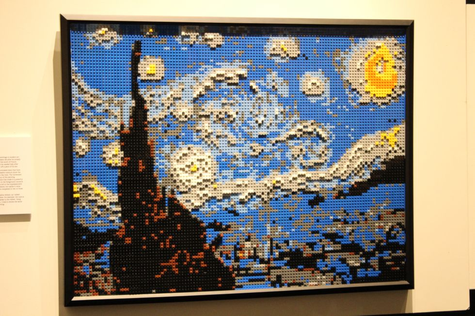 Nathan Sawaya Recreates Famous Paintings Using Lego Bricks