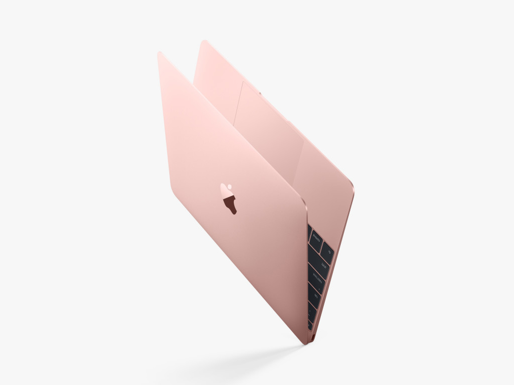 The Rose Gold Macbook Is Finally Here