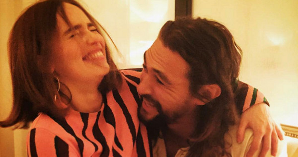 Jason Momoa is Still Emilia Clarke's #1 Fan