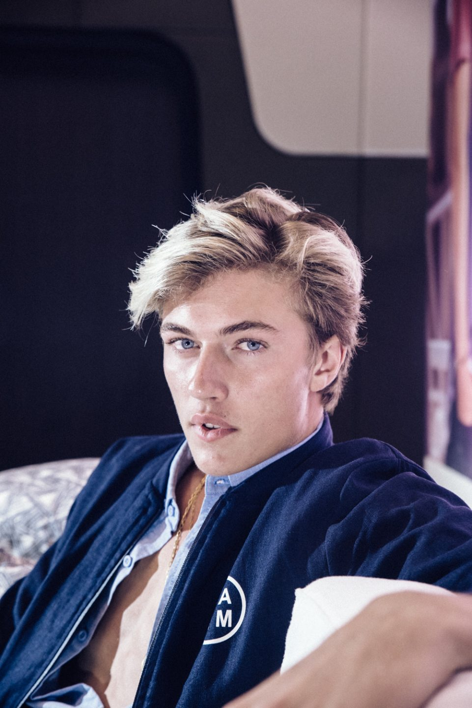 Chasing Lucky Blue Smith