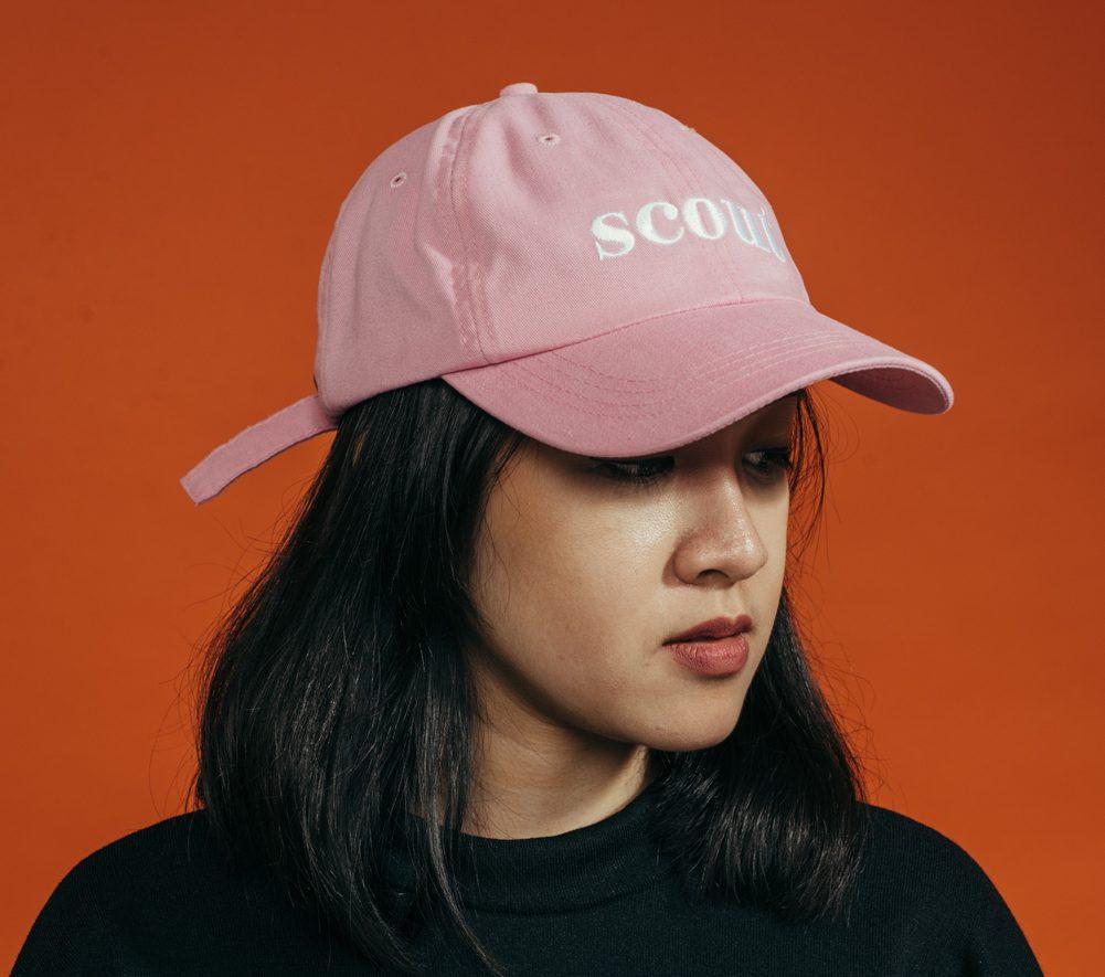 SCOUT LOGO RETRO CAP (PINK)