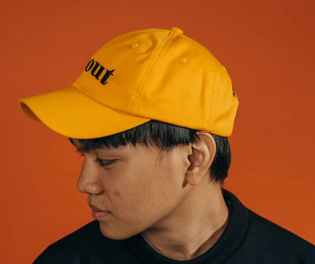 SCOUT LOGO RETRO CAP (ORANGE)