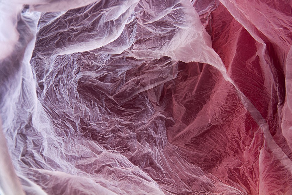 These Plastic Bag Landscapes Bring Out The Strange Beauty Of Trash