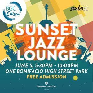 SBGC Sunset Jazz Social Media - Official poster