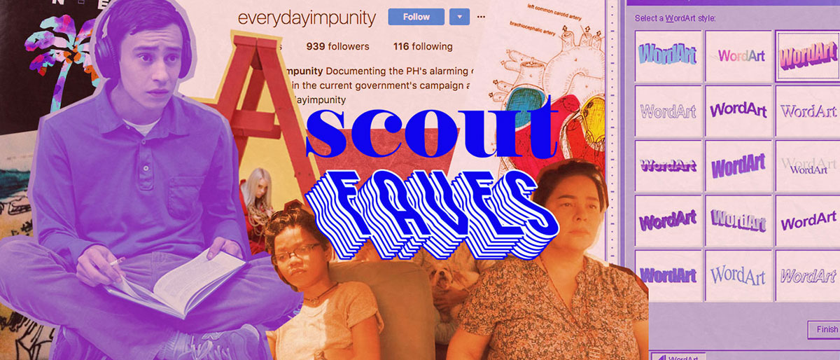 Last Week's #ScoutFaves: #everydayimpunity, Atypical, Jeona Zoleta