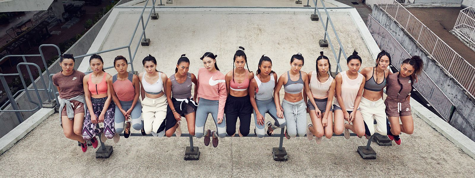 Your new favorite sportswear is in millennial pink