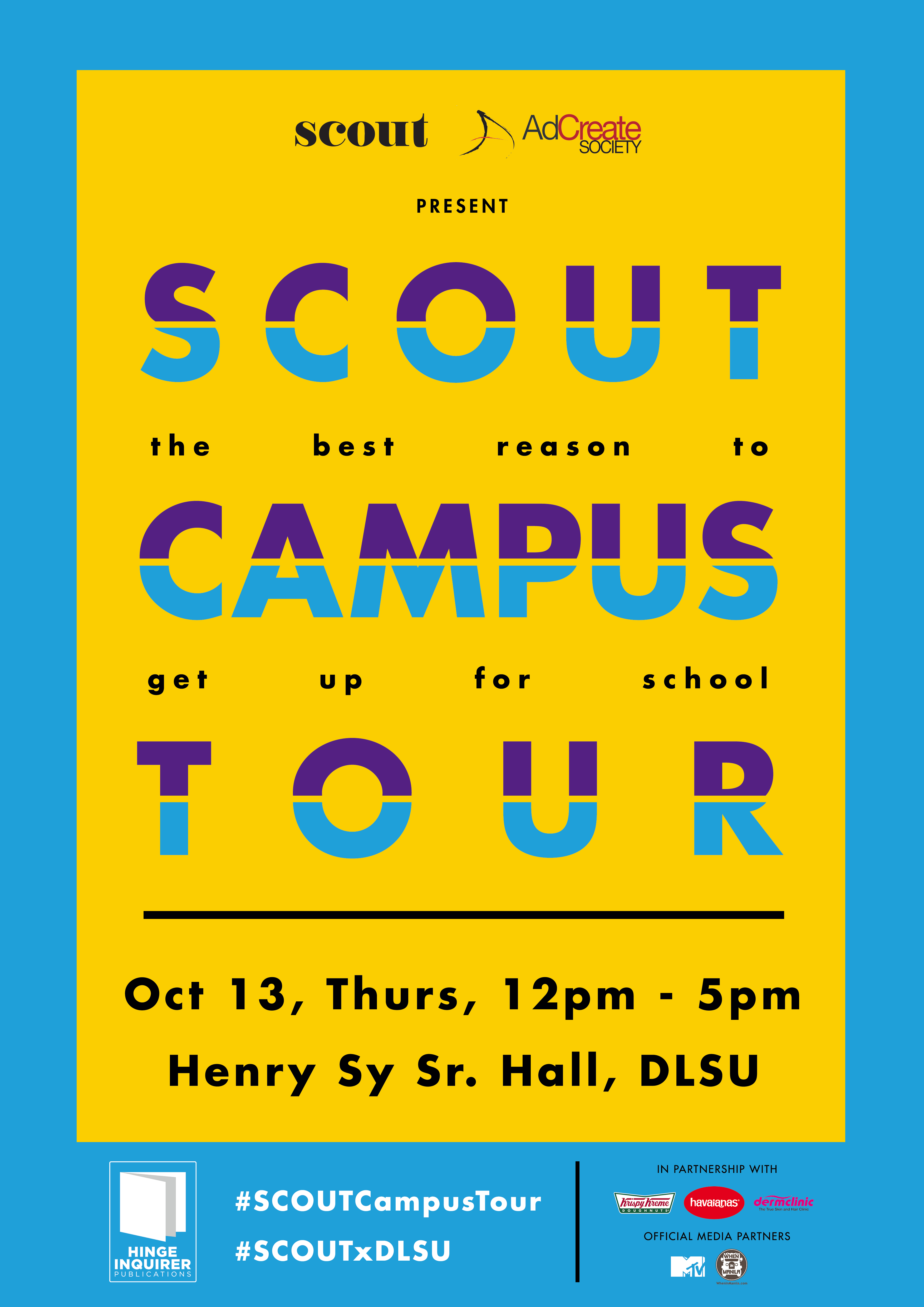 What You Can Expect At This Year's Scout x DLSU Campus Tour