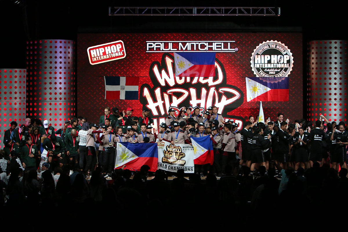 Philippine team wins big at World Hip Hop Dance Championship 2017
