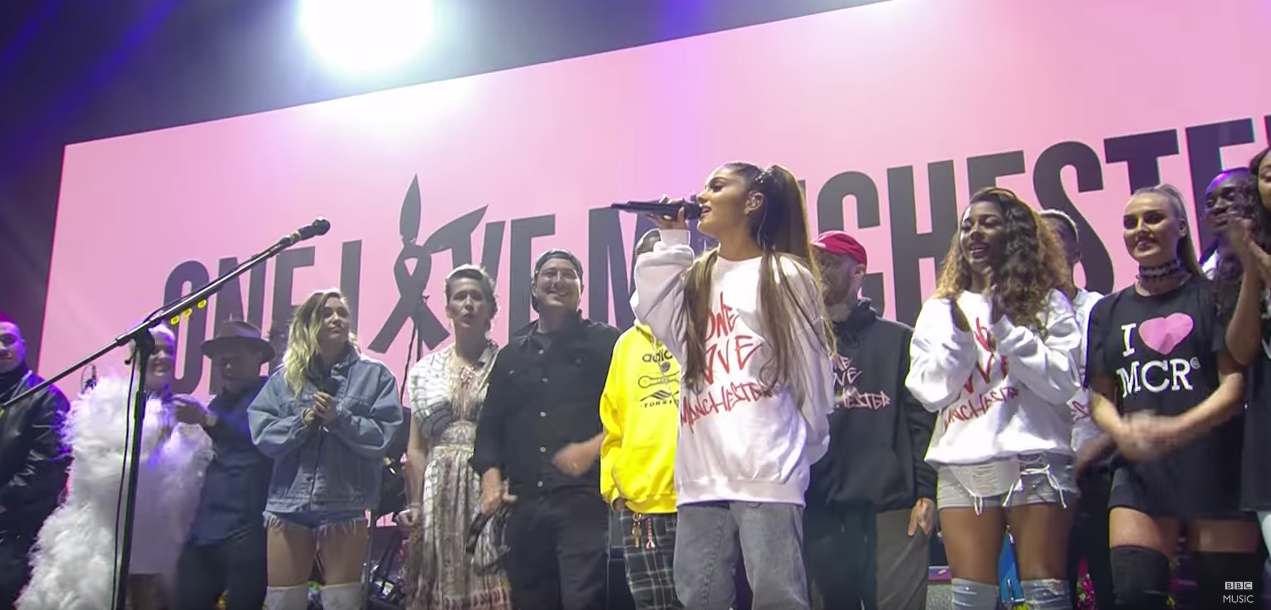 Ariana Grande is not stepping down with #OneLoveManchester