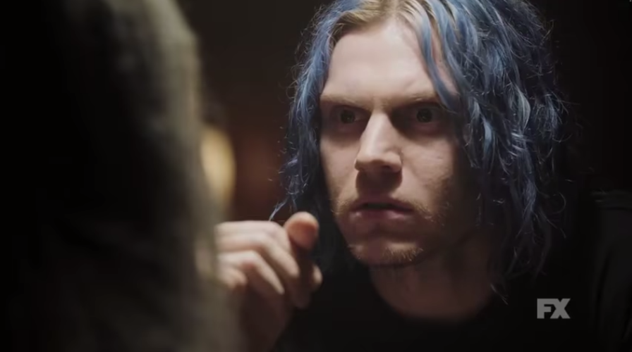 Evan Peters plays a Trump supporter in the trailer for 'American Horror Story: Cult'
