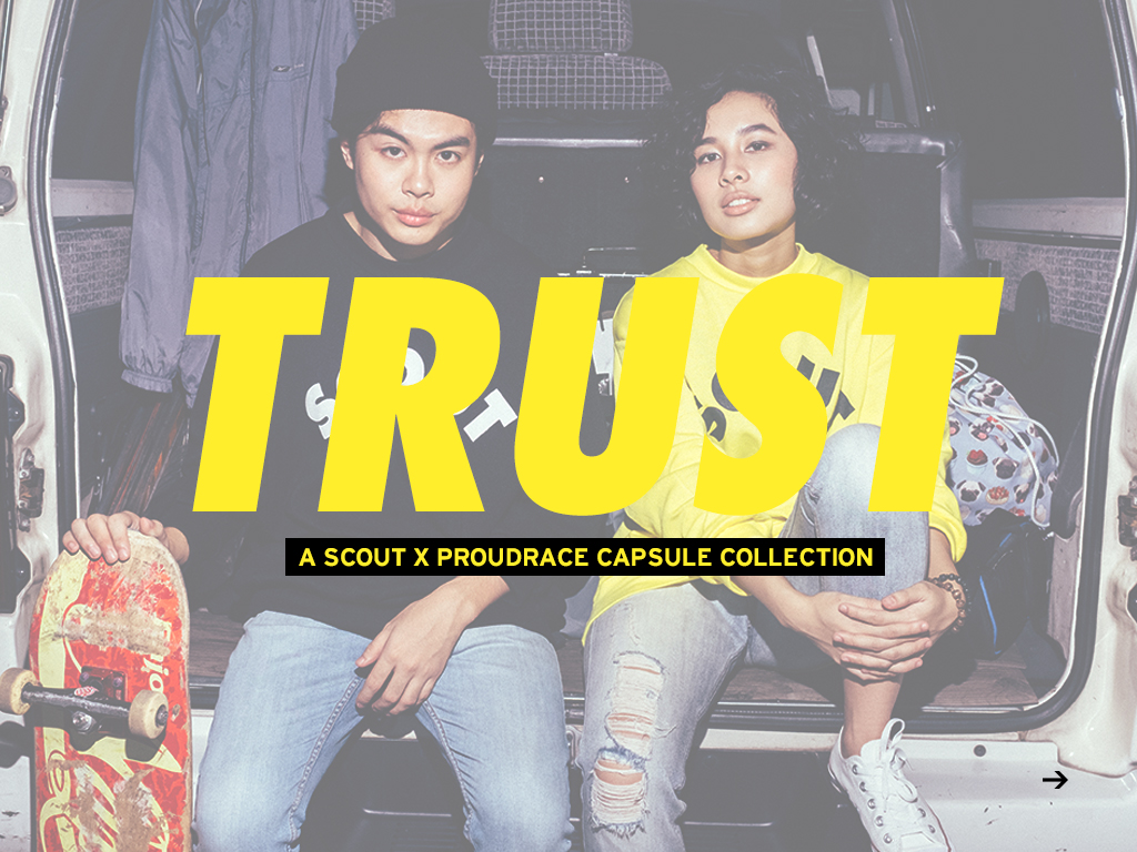 "The Scout x Proudrace ""Trust"" Collection Wave Two Look Book"