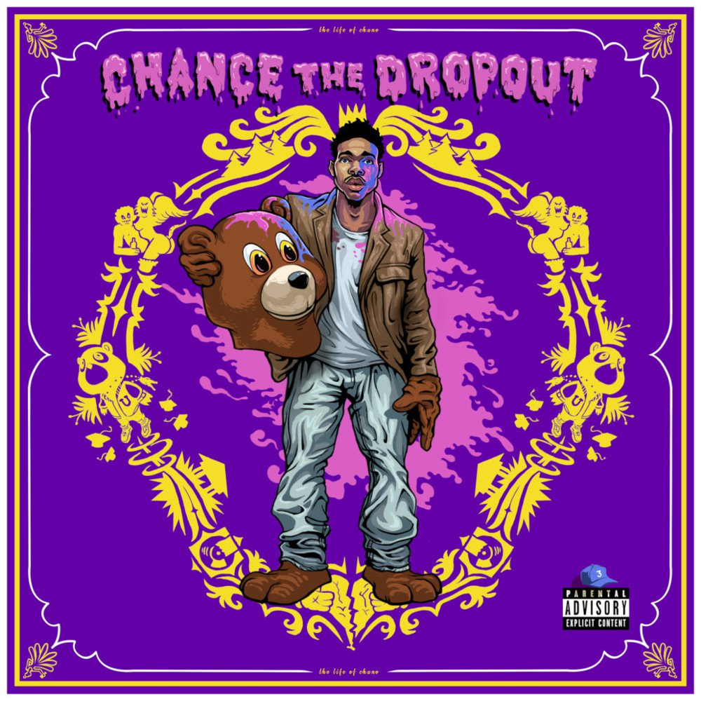 Coloring Book Chance The R Er Tour Quot Dropout Is A Kanye Musical