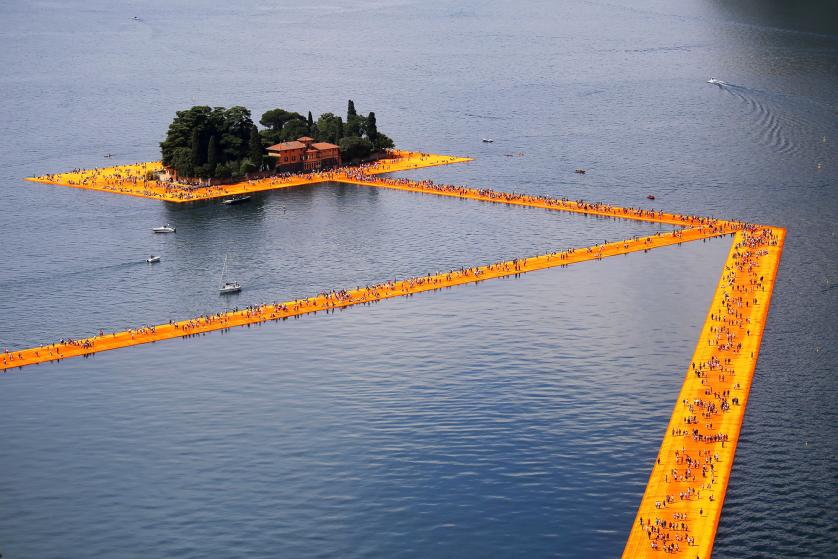 This Art Installation Lets You Walk On Water