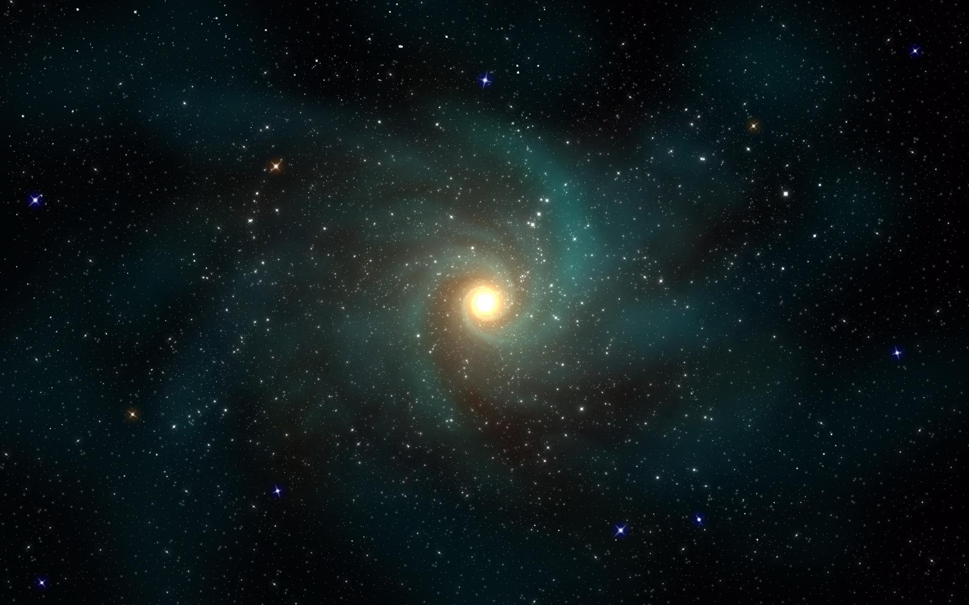 Astronomers Just Discovered A Dark Galaxy Orbiting The Milky Way