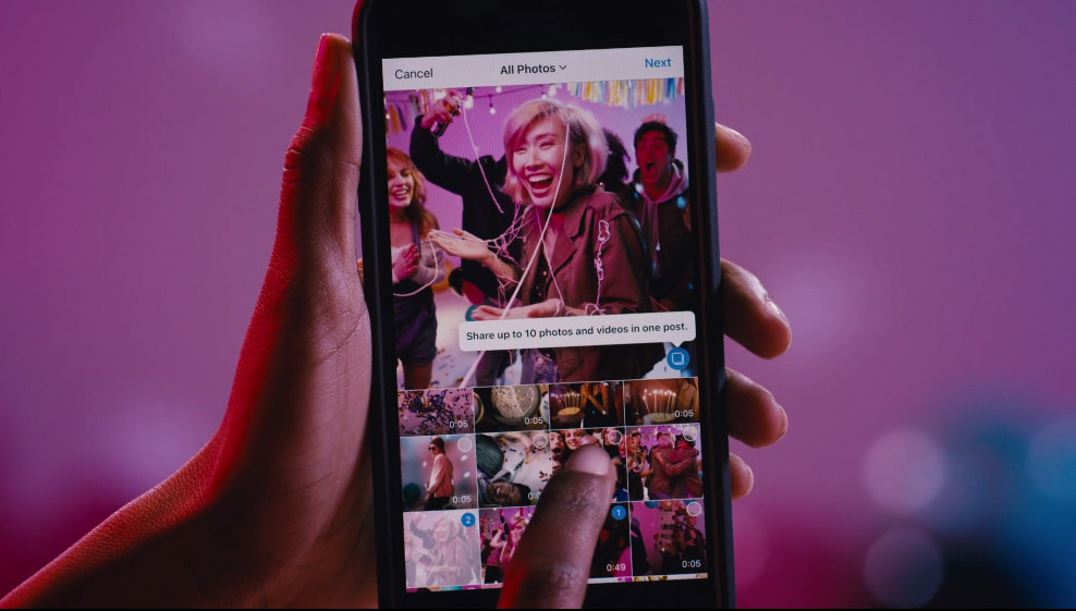 Instagram's Latest Feature Let's You Share Multiple Photos In One Post