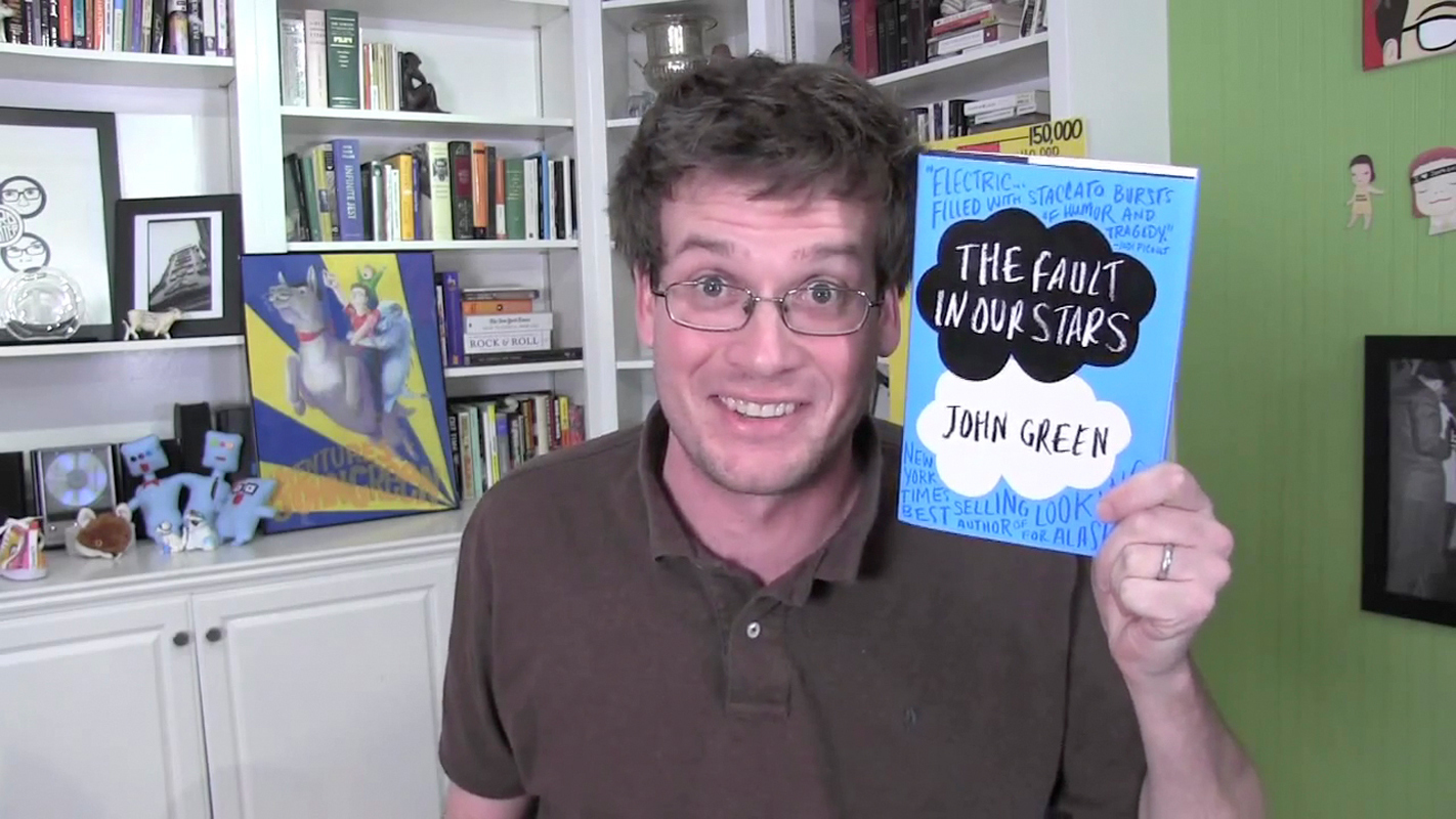 John Green's next book is inspired by his own experience with mental illness