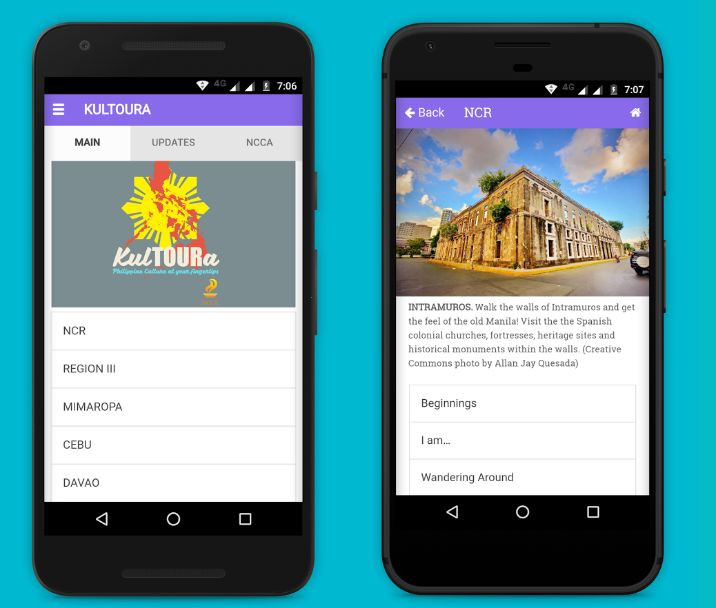 KulTOURA is the app that lets you be your own tour guide