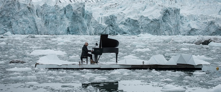 This Famous Pianist Performed While Floating In The Arctic