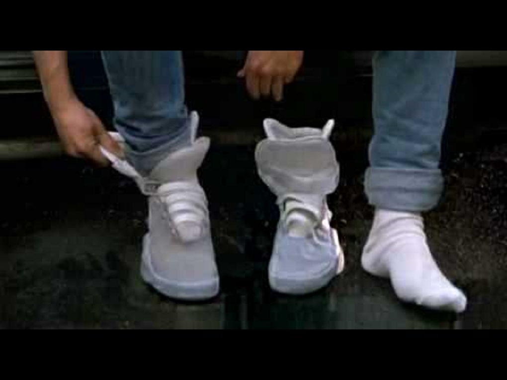 Nike's self-lacing 'Back to the Future' shoe only took five weeks to make