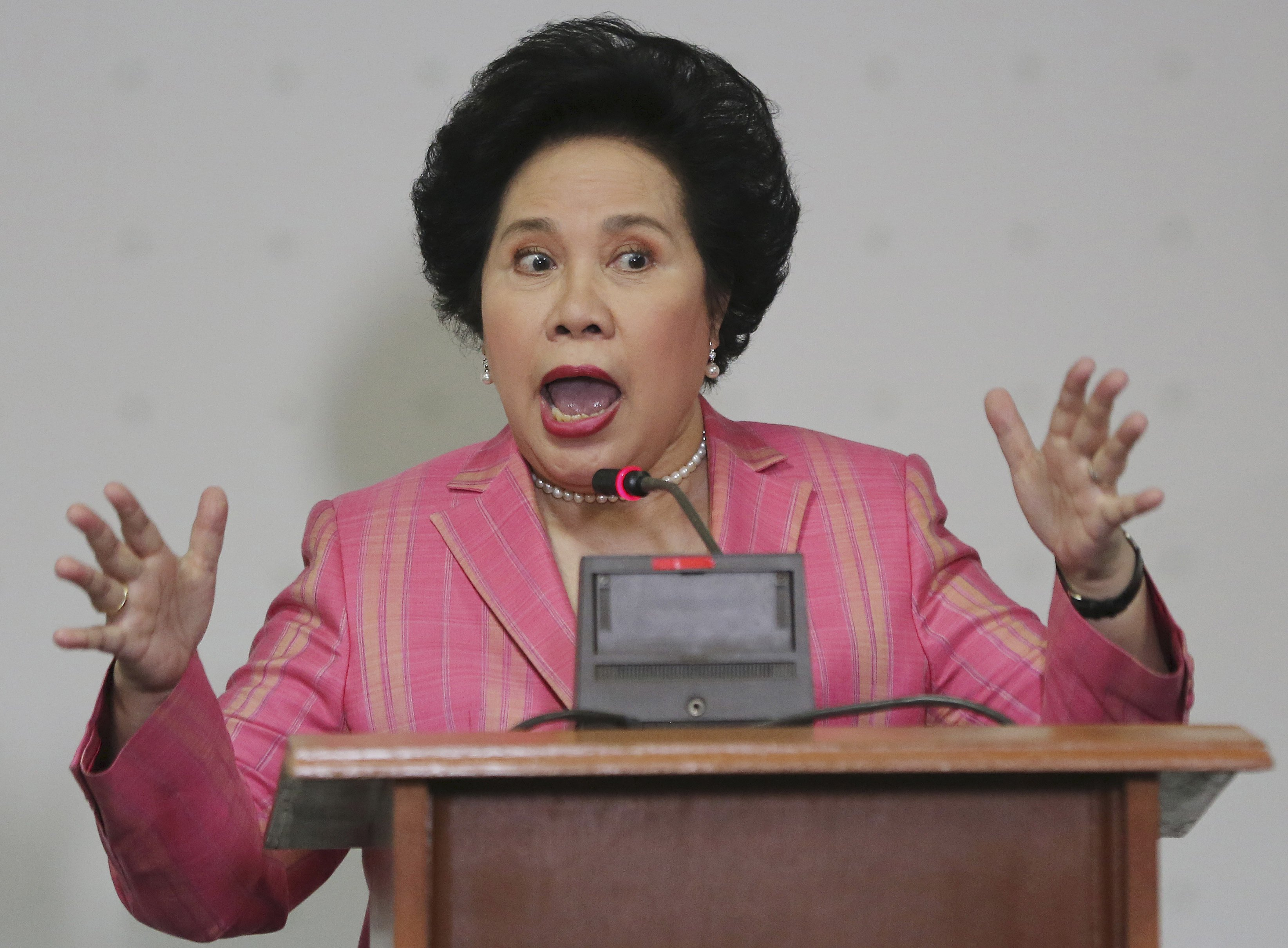 We Remember Senator Miriam Defensor-Santiago Through Her Savagery