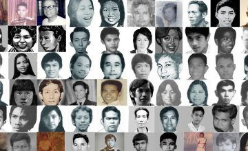 Social media users and artists trend #MarcosARTrocities on Ferdinand Marcos' 100th birthday