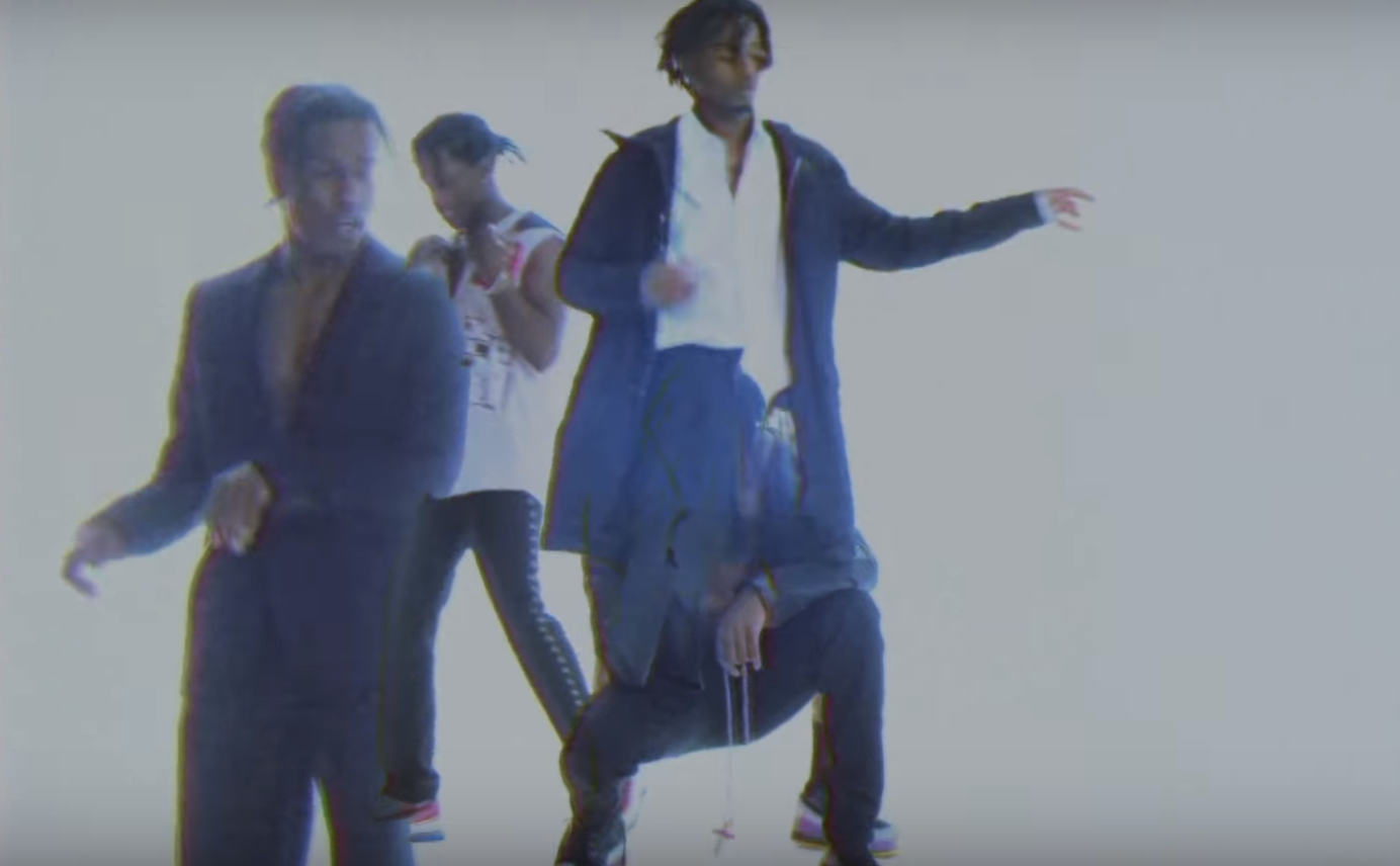 A$AP Rocky cuts out Frank Ocean and Lil Uzi Vert in new 'RAF' MV