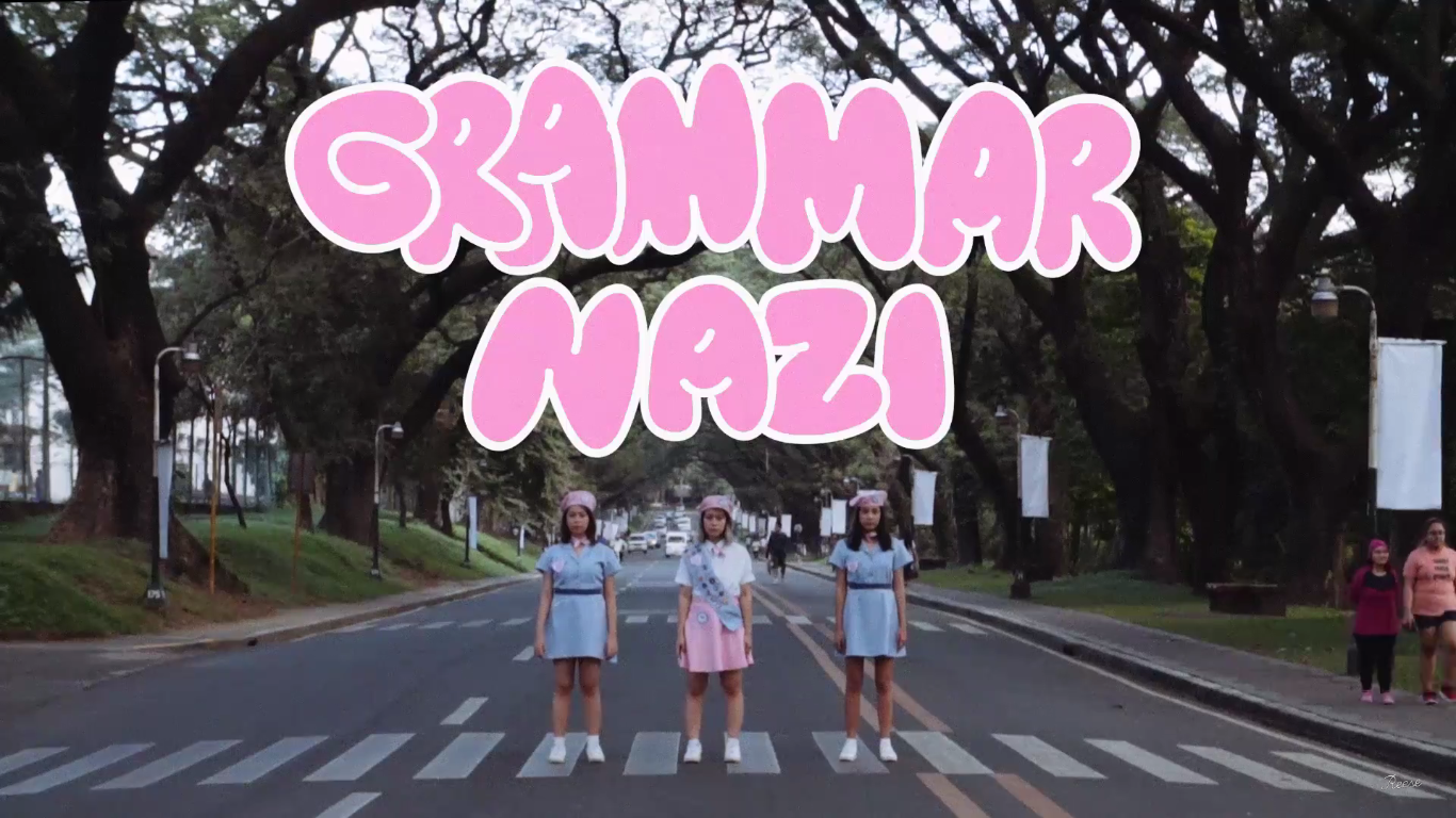 "Reese Lansangan's ""Grammar Nazi"" Gets A Very Cute Music Video"