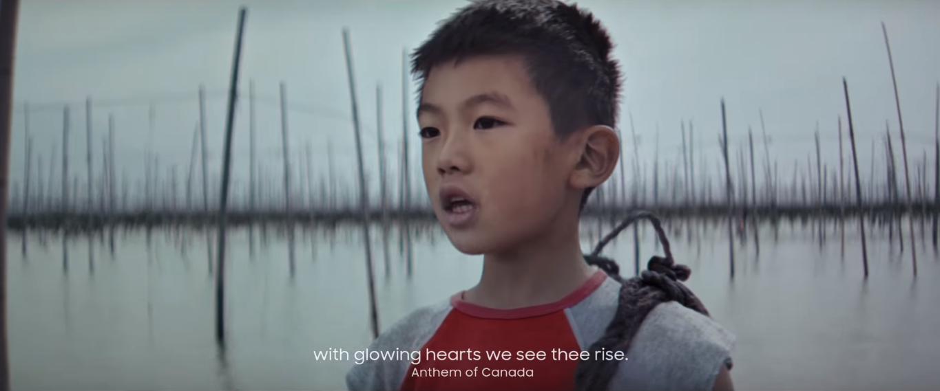 Samsung Mashes Up National Anthems In New Olympics Ad To Promote Unity