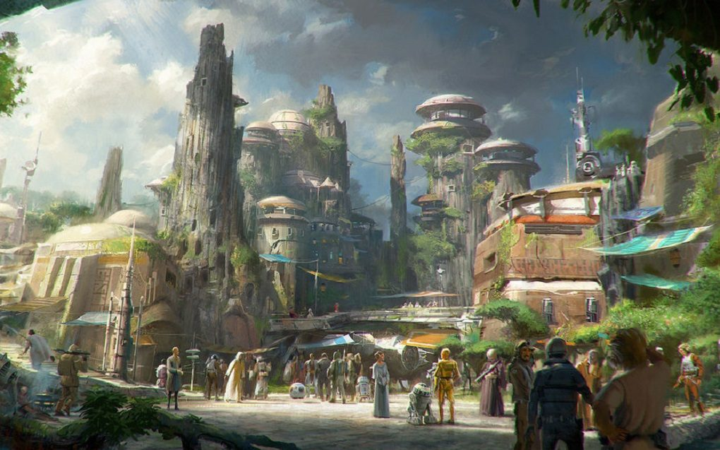 Can't wait for the new Star Wars theme park? Here's a sneak peek