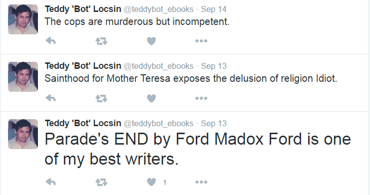 A Teddy Boy Locsin Twitter Bot Exists, Because Why Not