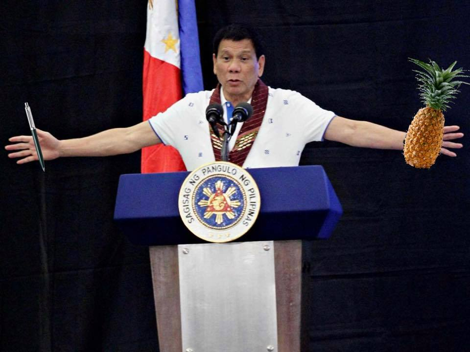 Duterte Holding Things Is Your New Favorite Tumblr