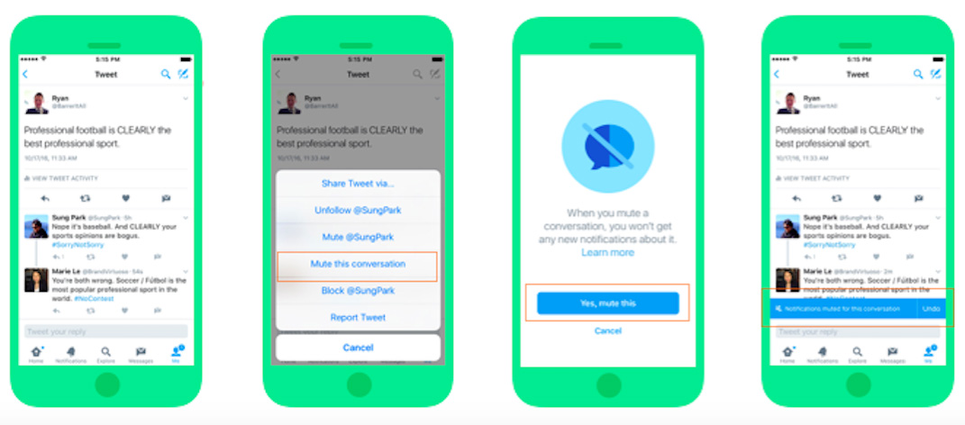 Twitter Curbs Harassment Through New Muting Feature